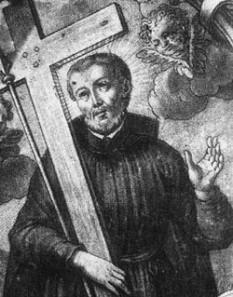 Paul Miki (n. ca. 1565, Kyoto, Japonia - d. 5 februarie 1597, Nagasaki) a fost un călugăr iezuit și martir. Este unul din sfinții patroni ai Japoniei - foto: cersipamantromanesc.wordpress.com