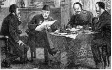 Semnarea Tratatului de la San Stefano, Turcia, 1878 - foto:cersipamantromanesc.wordpress.com