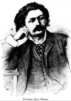 Sava Henția (n. 1 februarie 1848, Sebeșel, Alba - d. 21 februarie 1904) a fost un pictor român - in imagine, Pictorul Sava Henția gravură publicată în revista Familia, anul XXX nr. 21, 1894 - foto: ro.wikipedia.org