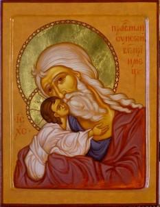 Sfântul și Dreptul Simeon. Prăznuirea sa în Biserica Ortodoxă se face la data de 3 februarie - foto: doxologia.ro