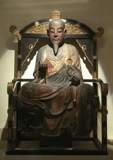 Prințul Shōtoku (n. 07 februarie 574 - m. 08 aprilie 622)  a fost un conducător japonez (593 – 622) semi-legendar și regentul împărătesei Suiko. El a fost fiul împăratului Yōmei și al prințesei Anahobe nu Hashihito din vestitul clan Soga, și este considerat creatorul civilizației japoneze - foto: ro.wikipedia.org