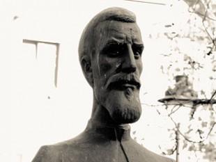 Bustul lui Timotei Cipariu din parcul Astra din Sibiu - foto: ro.wikipedia.org