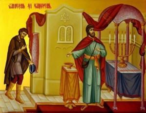 Vameşul şi a Fariseul - foto: doxologia.ro