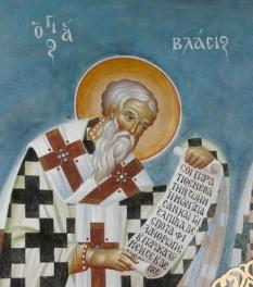 Sfântul Ierarh Vlasie, Episcopul Sevastiei. Prăznuirea sa de către Biserica Ortodoxă se face la data de 11 februarie - foto: basilica.ro