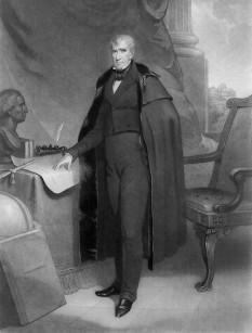 William Henry Harrison (n. 9 februarie 1773 – d. 4 aprilie 1841) a fost un lider militar american, politician și cel de-al nouălea președinte al Statelor Unite ale Americii (4 martie 1841 - 4 aprilie 1841). Harrison a servit ca primul guvernator al Teritoriului Indiana și, mai târziu, ca membru al House of Representatives și senator din partea statului Ohio - foto: cersipamantromanesc.wordpress.com