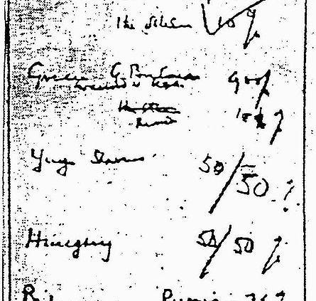 A Patra Conferința de la Moscova – Acordul Churchill-Stalin, de procentaj (9 octombrie 1944) - Faimosul petic de hârtie privind împărţirea sferelor de influenţă scris de Churchill şi aprobat de Stalin, descoperit într-o bibliotecă din Germania în anii 1990. România: Rusia - 90%, ceilalţi - 10%; Grecia: Marea Britanie (de acord cu SUA) - 90%, Rusia - 10%; Iugoslavia - 50-50%; Ungaria - 50-50%; Bulgaria: Rusia - 75%, ceilalţi - 25% - foto preluat de pe ro.wikipedia.org