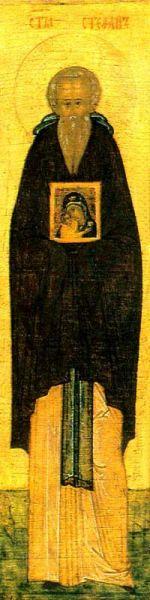 Sfântul Cuvios Ștefan, făcătorul de minuni. Prăznuirea sa în Biserica Ortodoxă se face pe 28 martie - foto: doxologia.ro