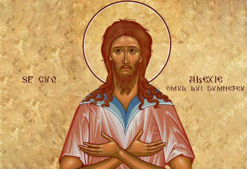 Sf. Cuv. Alexie, omul lui Dumnezeu (†411) - foto preluat de pe ziarullumina.ro