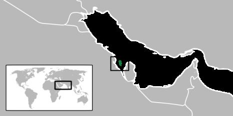 """Bahrain, oficial Regatul Bahrain, """"Regatul celor Două Mări"""", este o țară insulară independentă și suverană din Orientul Mijlociu, care cuprinde un arhipelag format din 33 de insule din sudul Golfului Persic, între Peninsula Qatar pe coasta de est și Arabia Saudită în partea de vest, este unul din statele din Golful Persic. Are o suprafață totală de 665 km². Principalele insule sunt Bahrain (562 km²), de departe, cea mai mare insulă; Al Muḩarraq; Umm o Na'san; Sitrah; Jiddah și grupul Ḩawar. Manama este capitala Bahrainului și cel mai mare oraș. Bahrainul a fost sub control britanic din 1861 până în 1971, când și-a câștigat independența - foto: ro.wikipedia.org"""