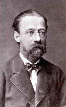 """Bedřich Smetana (n. Litomyšl, Boemia, 2 martie 1824 – † Praga, 12 mai 1884) a fost un compozitor și dirijor ceh. Este cunoscut pentru poemul simfonic Vltava (sau Die Moldau, după denumirea în germană a râului), al doilea dintr-un ciclu de șase pe care le-a intitulat Má vlast (""""Țara mea""""), precum și pentru opera Mireasa vândută - foto: ro.wikipedia.org"""