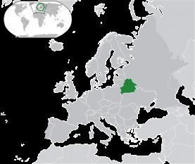 Belarus, denumită oficial Republica Belarus, este o țară fără ieșire la mare, aflată în Europa de Est, vecină cu Rusia către nord-est, Ucraina către sud, Polonia către vest, și Lituania și Letonia către nord-vest. Capitala țării este Minsk; printre alte orașe mari se numără Brest, Hrodna, Gomel, Moghilău și Vitebsk (Vițebsk). Peste 40% dintre cei 207.600 km² sunt împăduriți, iar principalele sectoare economice sunt agricultura și industria prelucrătoare - foto: ro.wikipedia.org