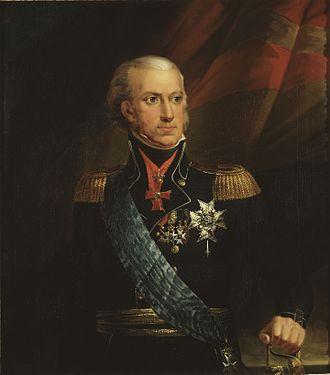 Carol al XIII-lea (suedeză: Karl XIII) (n. 7 octombrie 1748 – d. 5 februarie 1818), a fost regele Suediei din 1809 și rege al Norvegiei (unde a fost cunoscut drept Carl II) din 1814 și până la moartea sa. A fost al doilea fiu al regelui Adolf Frederic al Suediei și a reginei Luisa Ulrika a Prusiei, sora lui Frederic cel Mare al Prusiei - foto: ro.wikipedia.org