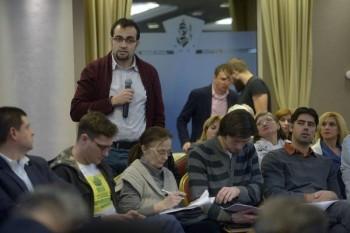 Initiativa Romania - Consultări cu candidaţii pentru alegerile locale, Hotel Minerva, Bucureşti (21.01.2016) - foto: marturiilehierofantului.blogspot.ro