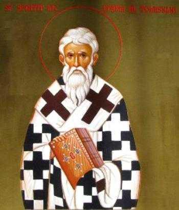Efrem al Tomisului (sec. III - IV) - foto preluat de pe basilica.ro