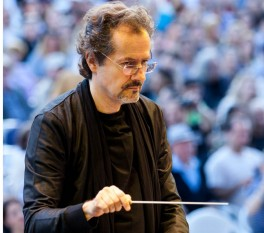 George Natsis (n. 6 martie 1958) compozitor român - foto: cersipamantromanesc.wordpress.com