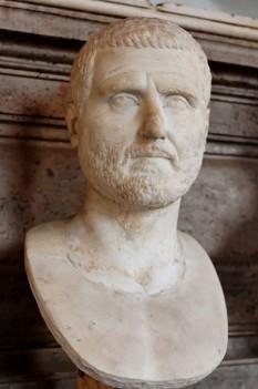 Marcus Antonius Gordianus Sempronianus Romanus Africanus (c.159 - 12 aprilie, 238), cunoscut sub numele de Gordian I, a fost un împărat roman în anul 238 (Anul celor șase împărați) - foto: ro.wikipedia.org