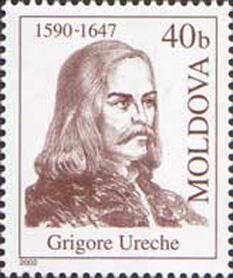 Grigore Ureche (n. cca. 1590 – d. 1647) a fost primul cronicar moldovean de seamă a cărui operă s-a păstrat.  Născut pe la 1590 sau 1595, Grigore a fost fiul lui Nestor Ureche, boier instruit deținând funcții politice importante la sfârșitul veacului al XVI-lea, în repetate rânduri purtător de solii la Poarta Otomană, mare vornic al Țării de Jos pe vremea domniei lui Eremia Movilă. Cronicarul de mai târziu a învățat carte la Lemberg, la Școala Frăției Ortodoxe, unde a studiat istoria, geografia, limbile clasice latina și greaca, retorica și poetica. Reîntors în țară, a participat la viața politică mai întâi ca logofăt, apoi spătar. În vremea domniei lui Vasile Lupu, a fost unul dintre sfetnicii apropiați ai acestuia, mare spătar, iar din anul 1642, urmând calea părintelui său, a ajuns mare vornic al aceleiași Țări de Jos. A murit în anul 1647 în satul Goești din ținutul Cârligăturii și a fost înmormântat într-o criptă de la mănăstirea Bistrița din Moldova - foto: ro.wikipedia.org