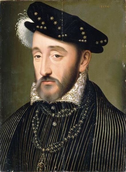 Henric al II-lea (31 martie 1519 – 10 iulie 1559) din dinastia Valois a fost rege al Franței între 1547 - 1559 - foto preluat de pe ro.wikipedia.org