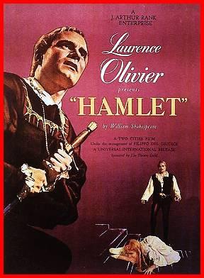 """Afișul filmului """"Hamlet"""" (din 1948) - foto: ro.wikipedia.org"""