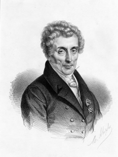 Luigi Cherubini (n. 1760, Florența - d. 1842, Paris), a fost un compozitor francez, de origine italiană. A compus operele: Lodoïska (1791), Eliza (1794), Acagiul (1800), Medeea (1797), Anacreon (1803). A mai scris cantate, simfonii, cvartete de coarde, sonate pentru pian. Este autorul unui curs de contrapunct și de fugă și al unei metode de canto - foto: ro.wikipedia.org