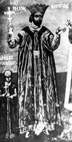 Mihnea cel Rău a fost un domn al Țării Românești între 1508 și 1509, fiu al lui Vlad Țepeș. S-a aflat în conflict permanent cu boierii și a fost expulzat de pe tron cu ajutorul sultanului. S-a refugiat în Transilvania, unde a fost ucis un an mai târziu pe treptele Bisericii Parohiale din Sibiu - foto: ro.wikipedia.org