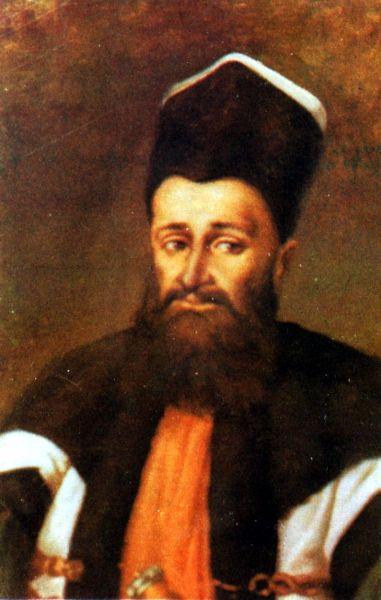 Nicolae Mavrogheni (n. ?, d. 30 septembrie 1790) a fost un domnitor fanariot din Ţara Românească. Domnia sa a început la 6 aprilie 1786 şi a durat până în septembrie 1790 - foto preluat de pe ro.wikipedia.org