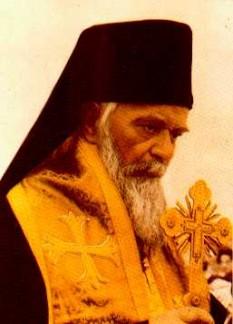 Părintele nostru între sfinți, Episcopul Nicolae Velimirovici (Nikolaj Velimirović, Николај Велимировић, 5 ianuarie 1881 - 18 martie 1956) a fost episcop al Jicei (Žiča) în Serbia și autorul a mai multe cărți ortodoxe. Cea mai cunoscută lucrare a sa este Proloagele de la Ohrida - foto: ro.orthodoxwiki.org