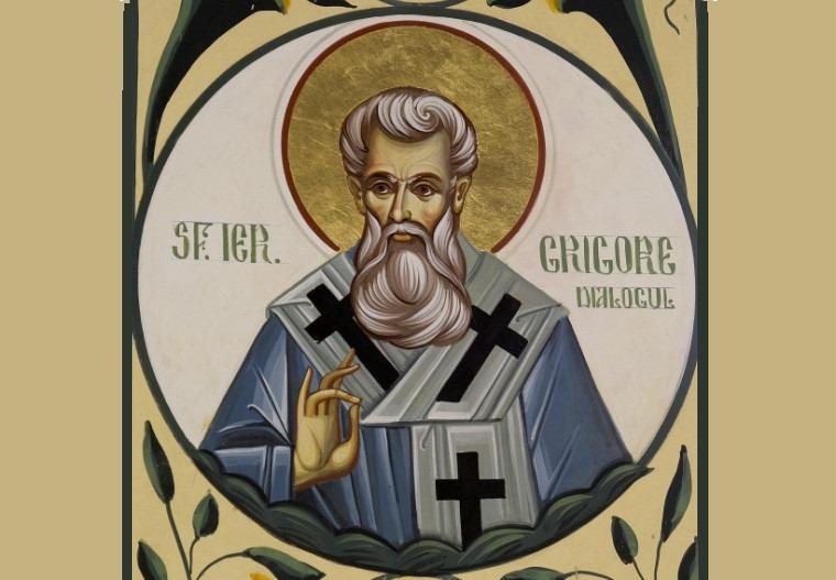 Papa Grigore I cel Mare (Grigorie Dialogul, 540 - 604) - foto preluat de pe ziarullumina.ro