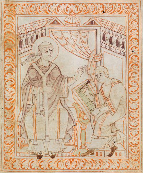 Papa Grigore I cel Mare (Grigorie Dialogul, 540 - 604) - foto preluat de pe ro.wikipedia.org