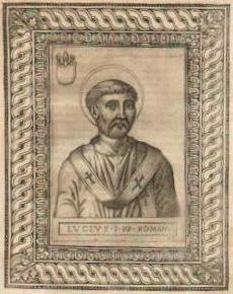 Papa Lucius I a deținut funcția papală în perioada 25 iunie 253 - 5 martie 254. Papa Lucius I a fost roman de origine. Imediat după alegerea sa a fost exilat de împăratului Trebonianus Gallus (206-253), co-împărat cu fiul său Volusianus între anii 251-253. Gallus și fiul său Volusianus au fost trădați de trupele lor și asasinați în 253, fiind succedați pentru 3 luni de împăratul Aemilianus, după care a urmat la putere împăratul Valerian care a dus o politică mai tolerantă în privința creștinilor. În aceste circumstanțe, Papa Lucius I a revenit la funcția papală, până la decesul său natural în 254. Deși de moravuri severe, în privința lapsilor, a continuat linia predecesorului său readmițându-i în Biserică după împlinirea pocăinței cuvenite. Nu același lucru însă se poate spune cu privire la disciplina clericilor și în ceea ce privește viața sexuală. Clericilor le-a interzis – sub pedeapsa depunerii – să conviețuiască cu diaconesele, chiar dacă le permitea să le ospiteze din caritate. Laicilor le-a interzis coabitarea în caz de consangvinitate. A murit de moarte naturală și a fost înmormântat în cripta papilor din cimitirul Sf. Calixt. Epigraful lespedei sale a fost scris inițial în greacă. Este sărbătorit pe 5 martie - foto: ro.wikipedia.org