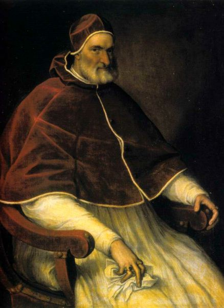 Pope Pius IV (31 March 1499 – 9 December 1565) - en.wikipedia.org
