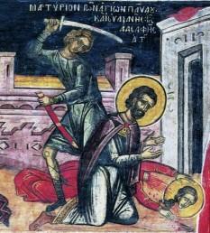 Martiriul Sfinților Mucenici Pavel și Iuliana.  Prăznuirea lor de către Biserica Ortodoxă se face la data de 4 martie - foto: doxologia.ro