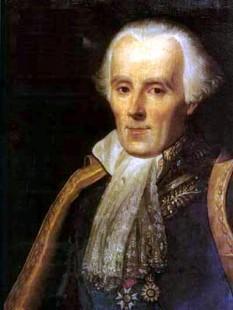 """Pierre-Simon, Marchiz de Laplace (n. 23 martie 1749, Beaumont-en-Auge - d. 5 martie 1827, Paris) a fost un matematician, astronom și fizician francez, celebru prin ipoteza sa cosmogonică Kant-Laplace, conform căreia sistemul solar s-a născut dintr-o nebuloasă în mișcare. A formulat ecuația Laplace și a pus la punct transformata Laplace, care apare în multe ramuri ale fizicii matematice, un domeniu în al cărui dezvoltare a jucat un rol esențial. Operatorul Laplace, utilizat pe scară largă în ecuațiile cu derivate parțiale, este, de asemenea, numit după el. Este cunoscut ca unul dintre cei mai mari oameni de știință din toate timpurile, denumit uneori """"Newton al Franței"""". A fost conte al Primului Imperiu Francez (din 1806) și marchiz din 1817, după restaurația Bourbonilor - foto: ro.wikipedia.org"""