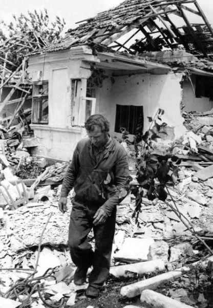 Războiul din Transnistria (1990-1992) - Casă distrusă în cadrul Războiului Transnistrian, preluat basarabia.discutfree.com