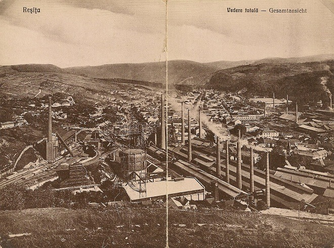 Reşiţa în 1927 - foto: bwshots.blogspot.ro
