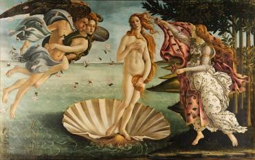 "Sandro Botticelli ""Naşterea lui Venus"", 1482-1485 - foto: ro.wikipedia.org"