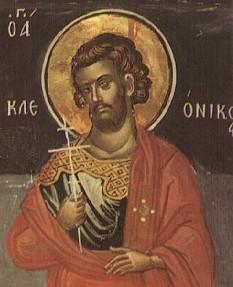 Sfântul Mucenic Cleonic. Pomenirea sa de către Biserica Ortodoxă se face la data de 3 martie - foto: doxologia.ro