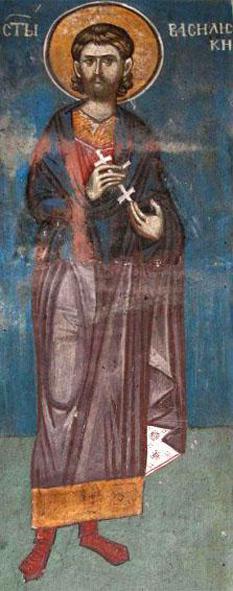 Sfântul Mucenic Vasilisc. Pomenirea sa de către Biserica Ortodoxă se face la data de 3 martie - foto: doxologia.ro