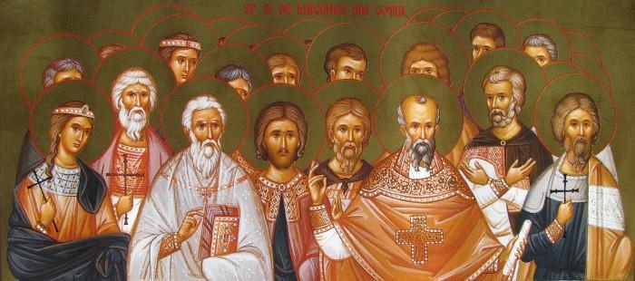 Sfinţii 26 de Mucenici din Goţia. Prăznuirea lor se face în Biserica Ortodoxă şi în Biserica Catolică pe 26 martie - foto: doxologia.ro