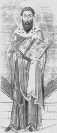 Cel întru sfinți părintele nostru Sofronie I al Ierusalimului a fost patriarh al Ierusalimului între anii 634-638. A fost patriarh atunci când Ierusalimul a căzut în mâinile sarazinilor, sub conducerea lui Omar I, în 637. A fost un hotărât luptător împotriva ereziei monotelite. Prăznuirea sa în Biserica Ortodoxă se face pe 11 martie - foto: ro.orthodoxwiki.org