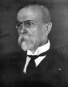 Tomáš Garrigue Masaryk (n. 7 martie 1850, d. 14 septembrie 1937), cunoscut și sub numele de Thomas Masaryk, a fost un politician, sociolog și filozof austro-ungar. Original, el și-a dorit să reformeze monarhia habsburgică într-o democrație federală, dar, în timpul Primului Război Mondial, acesta a dorit abolirea monarhiei și, cu ajutorul aliaților a reușit în cele din urmă acest lucru. A fost căsătorit cu pianista Charlotte Garrigue, al cărei nume de familie și l-a adăugat la al său -  foto: ro.wikipedia.org
