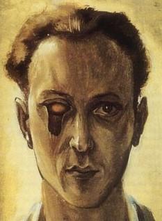 Victor Brauner (n. 15 iunie 1903, Piatra Neamț - d. 12 martie 1966, Paris) a fost un pictor și poet suprarealist evreu, originar din România - in imagine, Victor Brauner, autoportret premoniție, 1930 - foto: ro.wikipedia.org