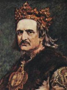 Vladislav al II-lea din dinastia Iagello (în limba poloneză Władysław II Jagiełło, în germană Wladyslaw Jagiello, n. circa 1362 - d. 1 iunie 1434 la Gródek) a fost rege al Poloniei între anii (1386 - 1434). Împreună cu vărul său, Vitold, mare duce al Lituaniei au încheiat uniunea polono-lituaniană (pactul de alianță de la Horodlo pe Bug) în pofida conflictelor familiare anterioare între Vladislav și tatăl lui Vitold. Vitold este convertit la religia ortodoxă și, cu toate că a devenit creștin, conflictul cu teutonii rămâne neînlăturat - foto: ro.wikipedia.org