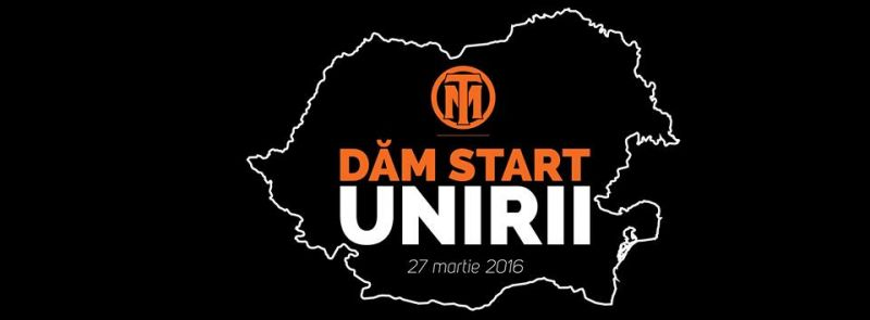 Dăm Start Unirii - foto: facebook.com