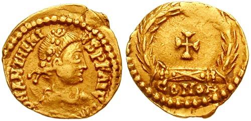 Procopius Anthemius (n. cca 420, Constantinopol, Imperiul Roman – d. 11 iulie 472, Roma) a fost un împărat al Imperiului Roman de Apus din 467 până la moartea sa - foto: ro.wikipedia.org