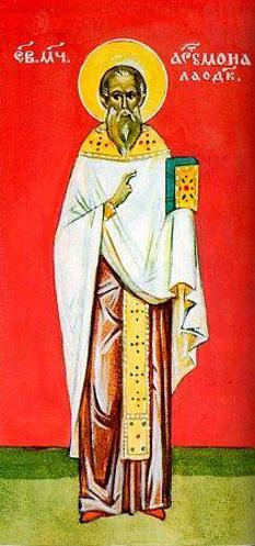 Sfântul Sfințit Mucenic Artemon preotul, din Laodiceea. Prăznuirea sa de către Biserica Ortodoxă se face la data de 13 aprilie - foto: doxologia.ro
