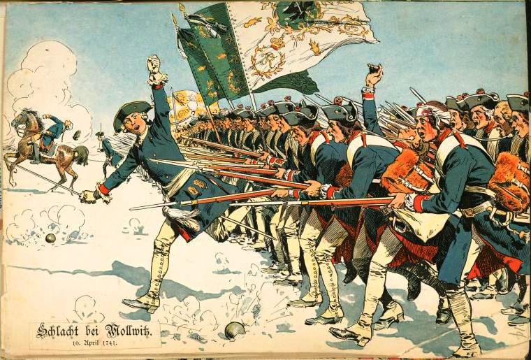 Batalia de la Mollwitz (1741) - foto: ro.wikipedia.org