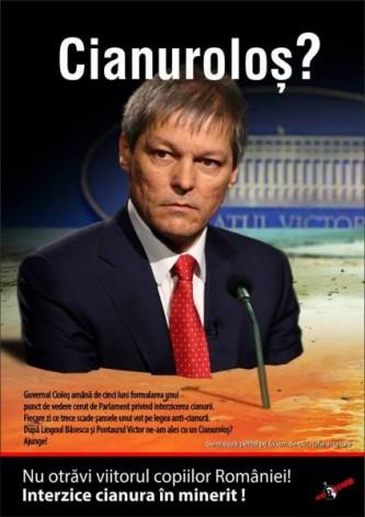 De ce tace Dacian Cioloş pe subiectul interzicerii cianurii în minerit - foto: facebook.com
