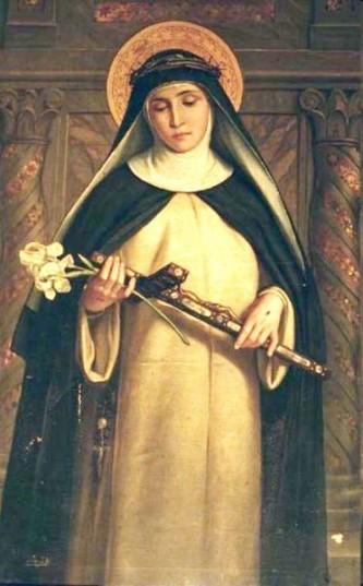 Ecaterina de Siena (Caterina Benincasa) n. 25 martie 1347, d. 29 aprilie 1380, a fost o mistică dominicană. Este venerată ca sfântă în Biserica Catolică și a fost declarată Doctor al Bisericii - foto: ro.wikipedia.org