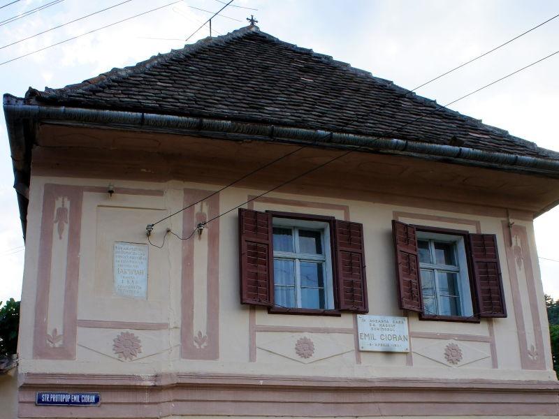 Casa unde s-a născut Emil Cioran, în Rășinari - foto preluat de pe ro.wikipedia.org